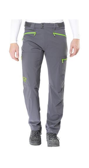 Norrøna falketind flex1 lange broek Heren grijs